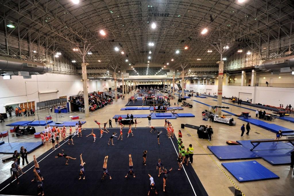 chicago style gymnastics meet vendors
