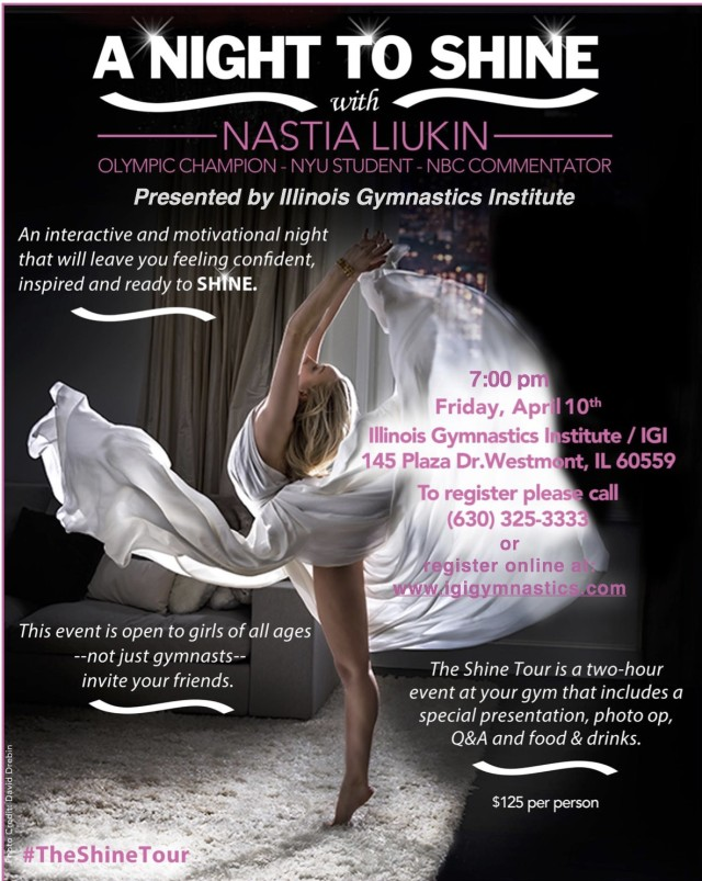 A Night to Shine with Nastia Liukin